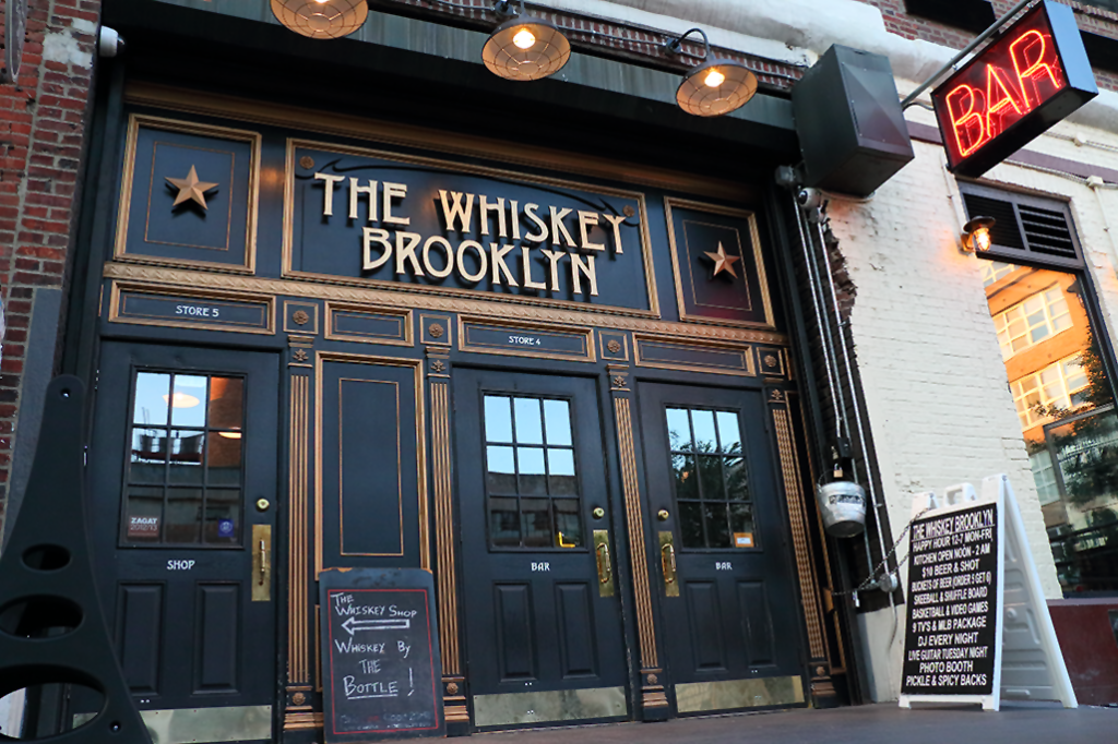 The Whiskey Brooklyn was a great host!