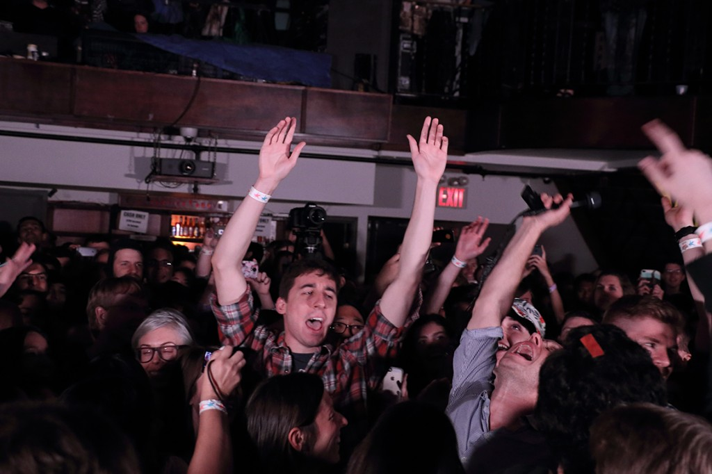 Freaking out with Damian Kulash in the crowd