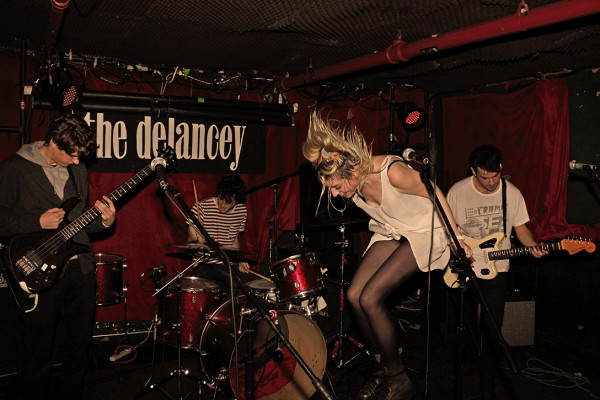 PANCAKES & WHISKEY PRESENTS: CMJ AT THE DELANCEY