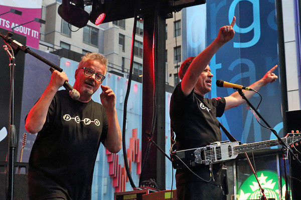3RD ANNUAL CBGB FESTIVAL IN TIMES SQUARE WITH DEVO, WE ARE SCIENTISTS & MORE