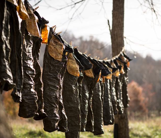 Jeans Drying