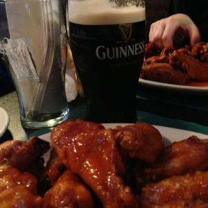 Wings and Guinness