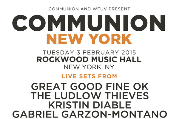 WIN TICKETS TO COMMUNION CLUB NIGHT AT ROCKWOOD MUSIC HALL!