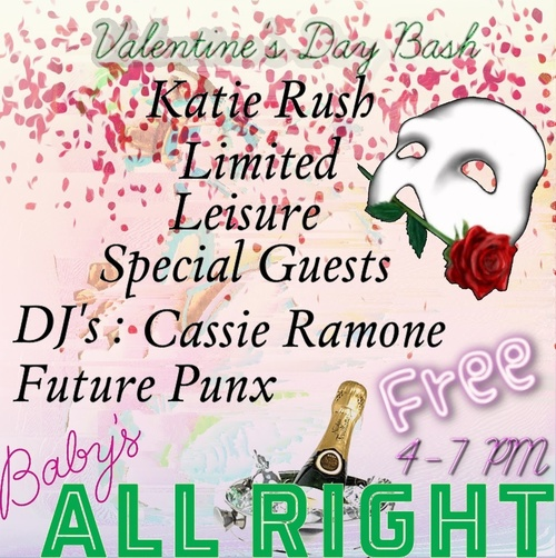 Valentines Day party at Baby's All Right