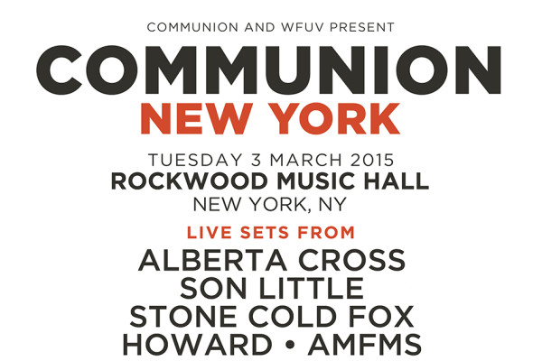 WIN COMMUNION CLUB NIGHT TICKETS AT ROCKWOOD MUSIC HALL!!