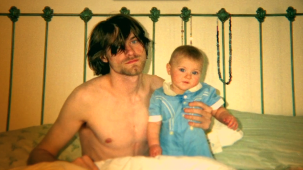 Kurt and Frances Bean