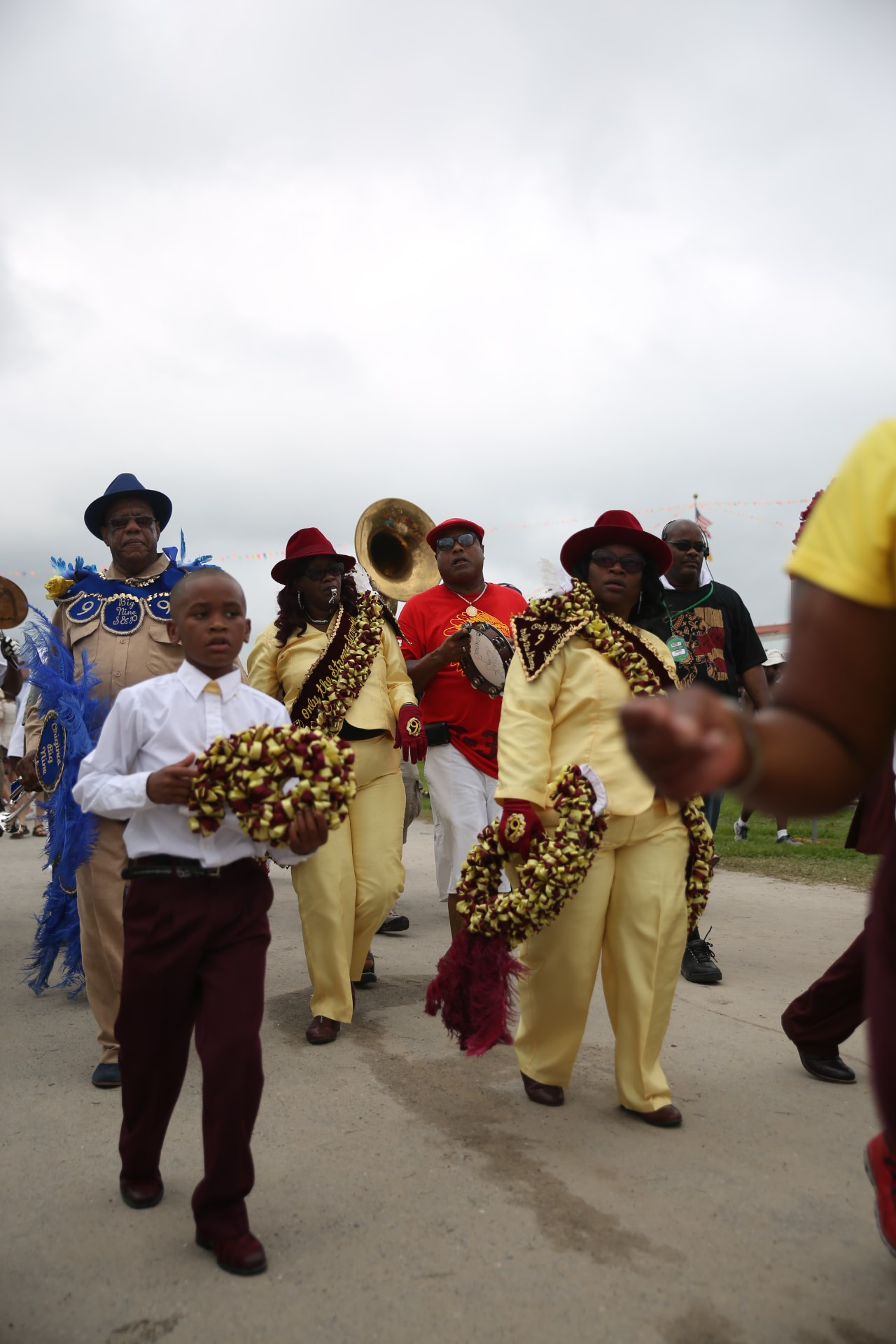 Second Line performers-min