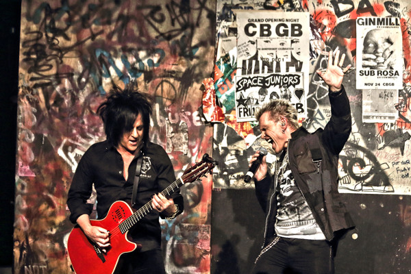WIN A PAIR OF BILLY IDOL TICKETS TO JBL LIVE AT PIER 97 ON 5-29