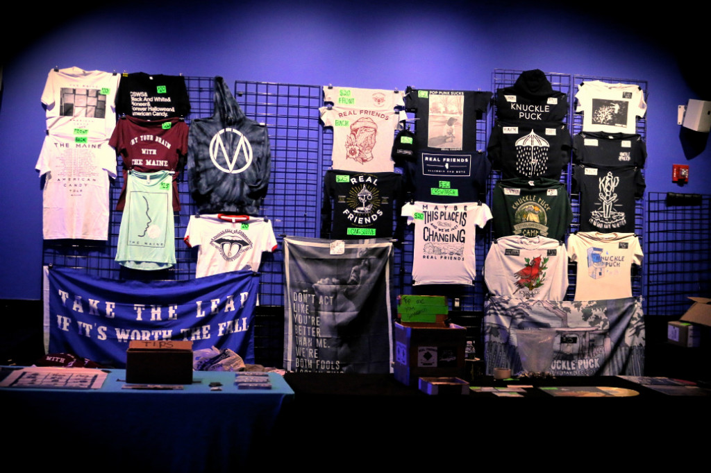 The Maine merch
