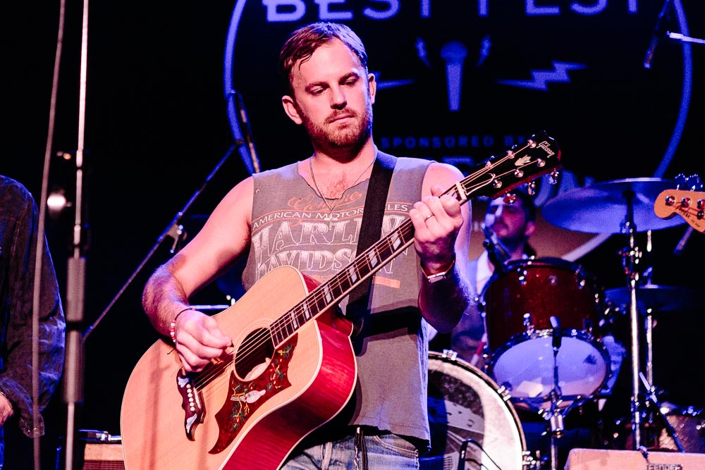 Caleb Followill performing