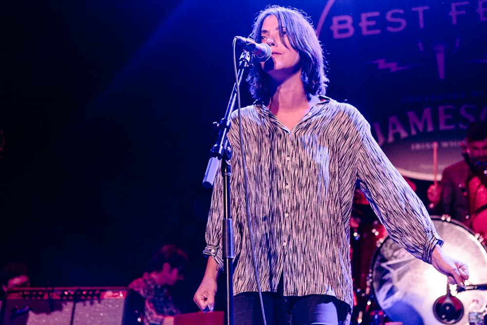 Sharon Van Etten performing