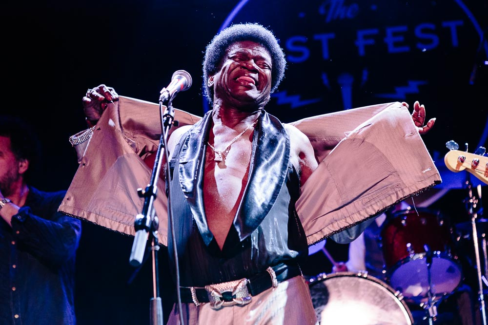 "Charles Bradley performing ""Heart of Gold"" at Neil Fest - A Night to Celebrate the Music of Neil Young at Bowery Ballroom on September 14th, 2015 with Cabin Down Below band and tons of guests. (Photos: Sachyn Mital)."