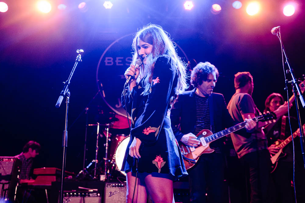 "Jade performing ""Everybody's Alone"" at Neil Fest - A Night to Celebrate the Music of Neil Young at Bowery Ballroom on September 14th, 2015 with Cabin Down Below band and tons of guests. (Photos: Sachyn Mital)."