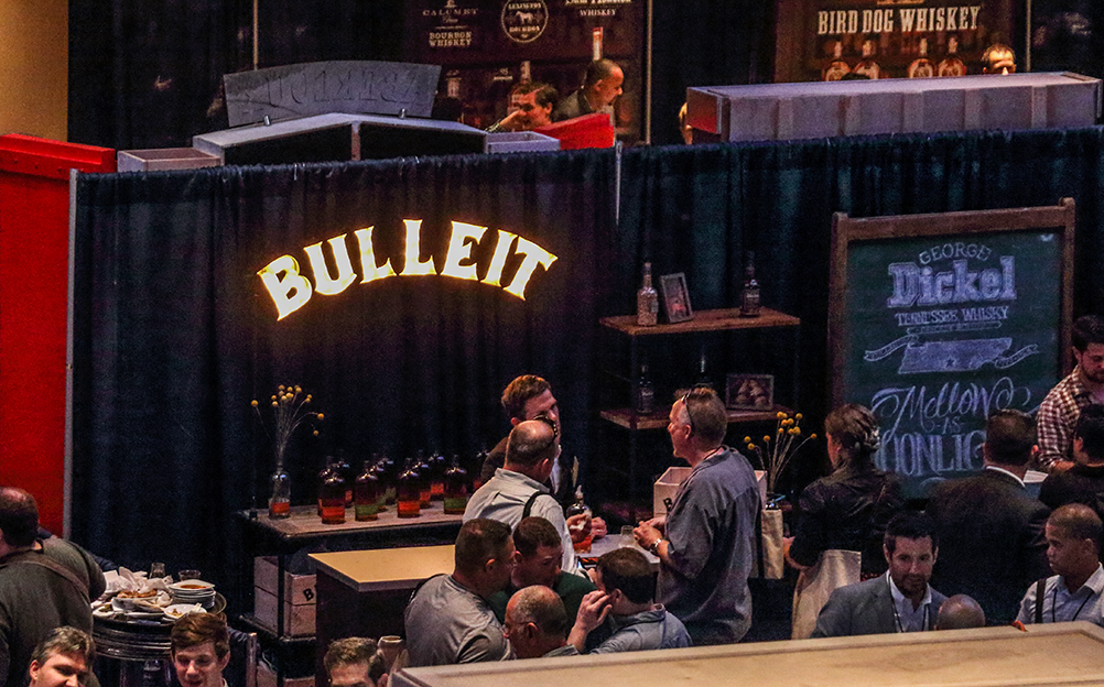 Bulleit & George Dickel...some of our faves