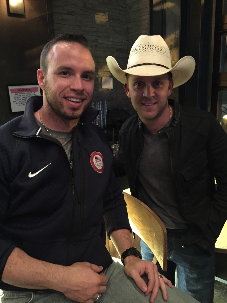 Dallas Robinson and Justin Moore
