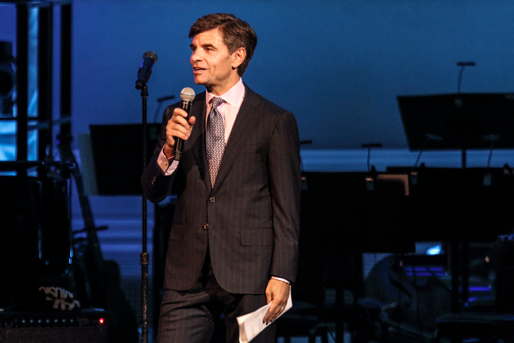 George Stephanopoulos - Host for the evening
