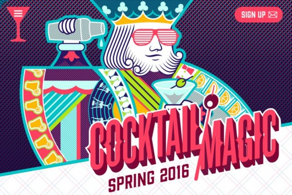 COCKTAIL MAGIC IS VISITING NYC THIS WEEK - DON'T MISS OUT