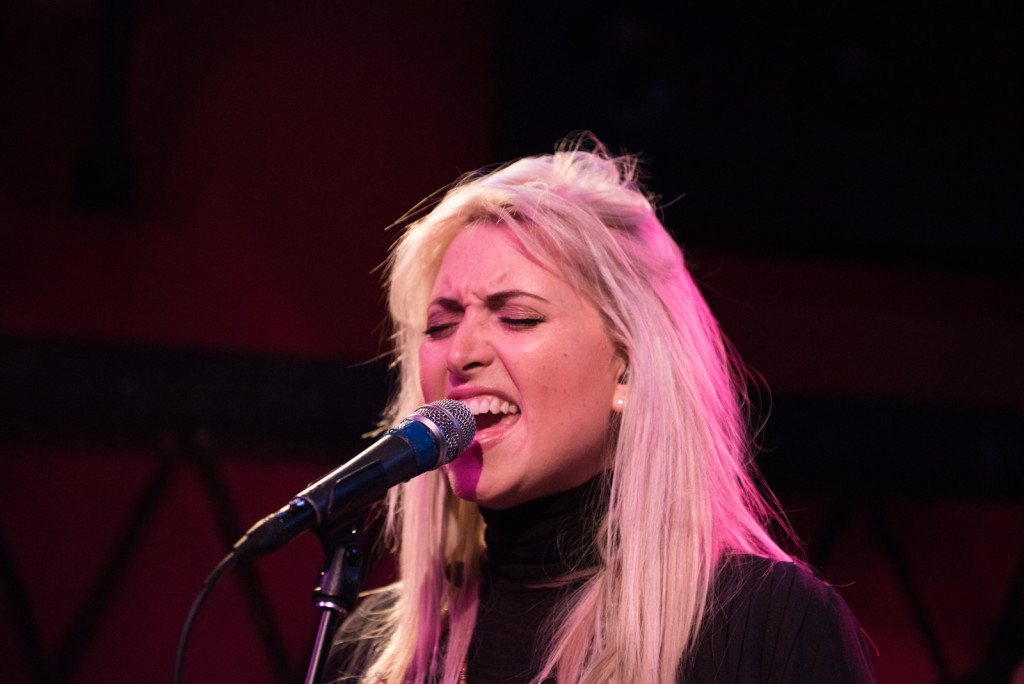 Phebe Starr performing at Rockwood Music Hall
