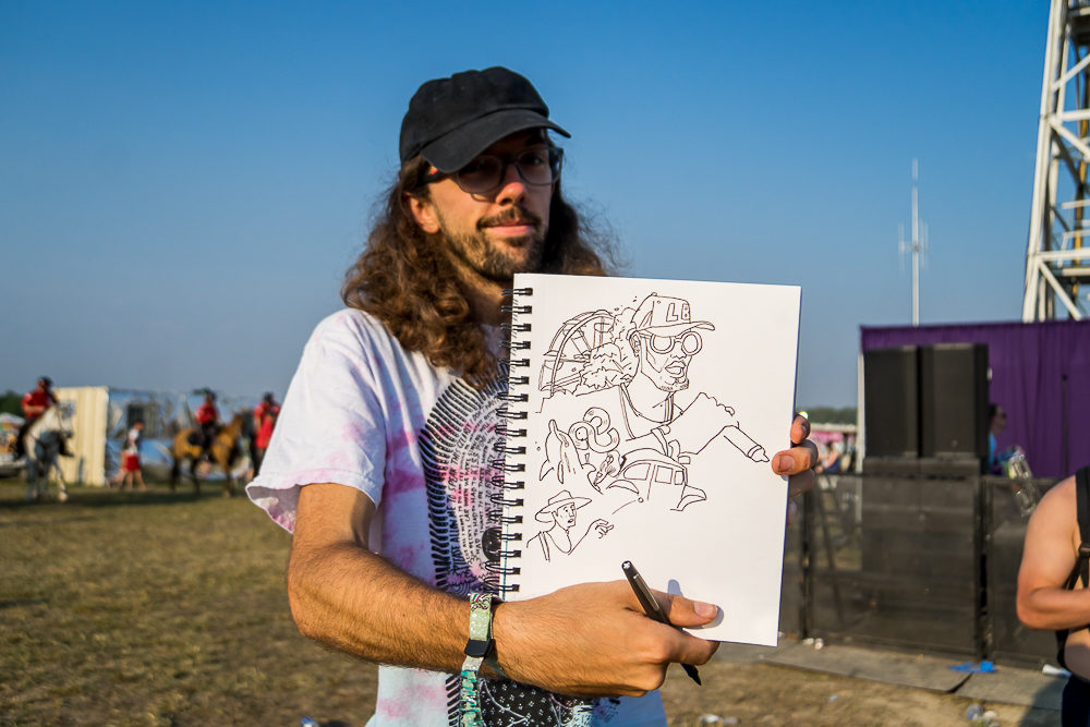 Brian Butler and his Miguel Sketch