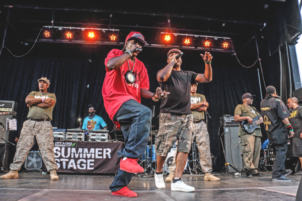 PUBLIC ENEMY BRING THE NOISE TO BETSY HEAD PARK FOR SUMMERSTAGE