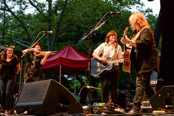 THE INDIGO GIRLS DIG DEEP INTO THEIR CATALOG AT SUMMERSTAGE