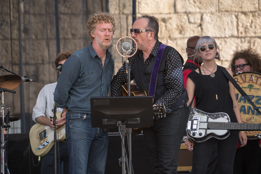 Elvis Costello with Glen Hansard