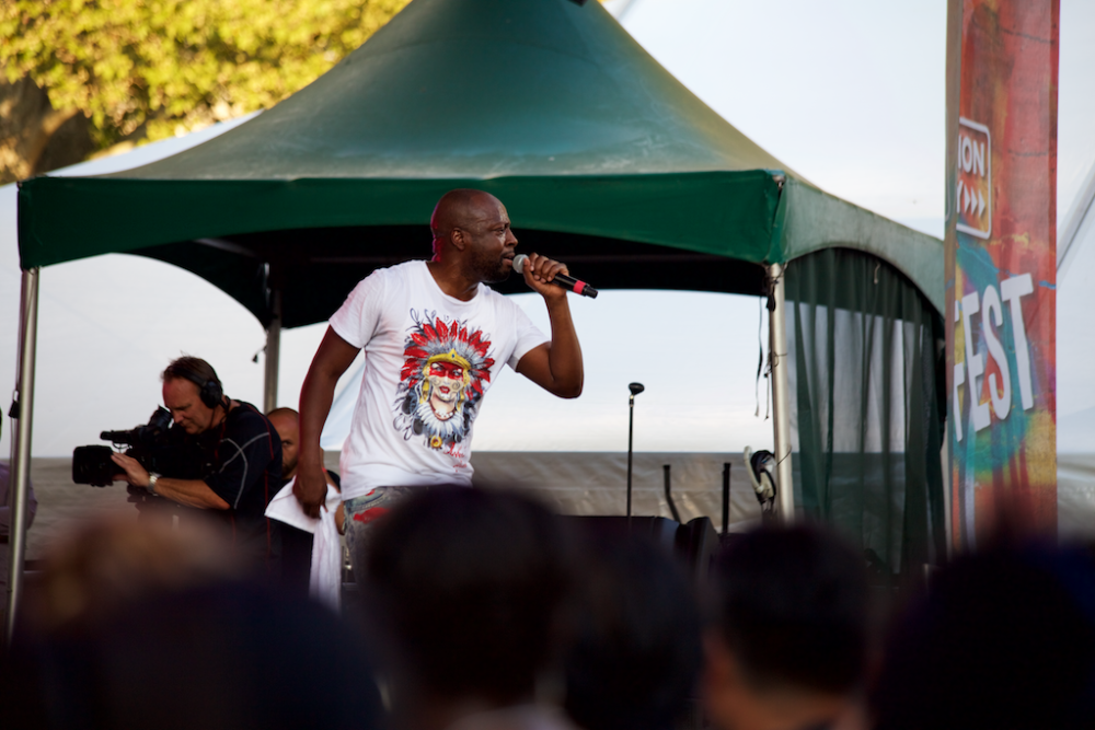 Wyclef at OZY Fusion Fest