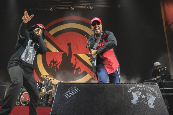 PROPHETS OF RAGE BRING POLITICALLY-CHARGED FURY TO BARCLAYS