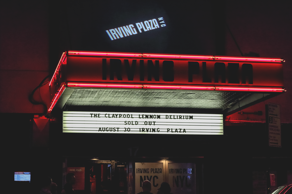 Irving Plaza - sold out