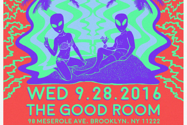 WIN TICKETS TO CRUSHED OUT, HIGH WAISTED & CAGED ANIMALS AT GOOD ROOM ON 9-28-16