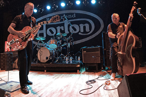 THE ROCKABILLY REVIVAL OF REVEREND HORTON HEAT AT WARSAW