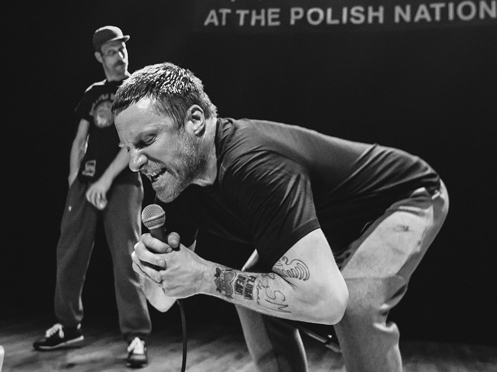SLEAFORD MODS WHIP WARSAW INTO A FRENZY  Pancakes And Whiskey