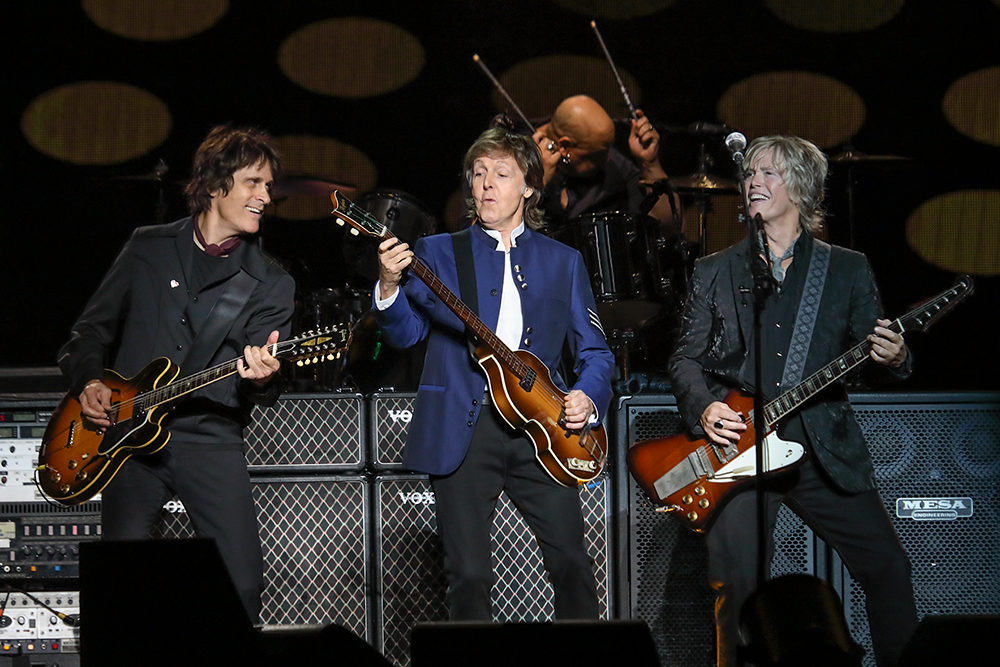 PAUL MCCARTNEY BRINGS A JAW-DROPPING, HIT-FILLED SHOW TO