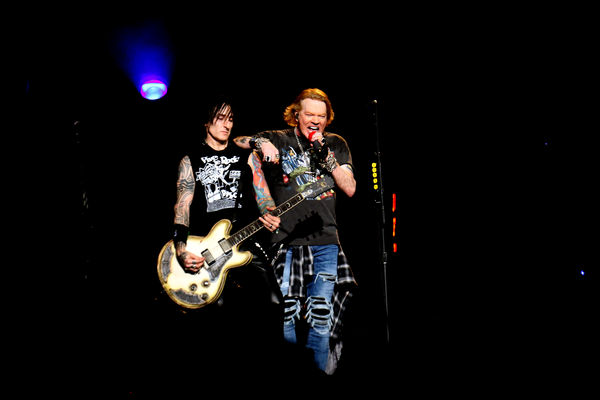GUNS 'N ROSES END THEIR 3 SOLD OUT SHOWS AT MSG - Pancakes