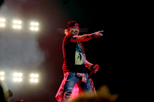 GUNS 'N ROSES END THEIR 3 SOLD OUT SHOWS AT MSG