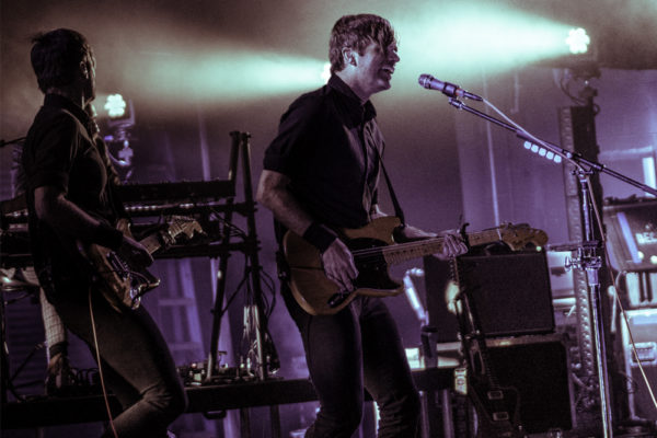 DEATH CAB FOR CUTIE STUNS AT KINGS THEATRE