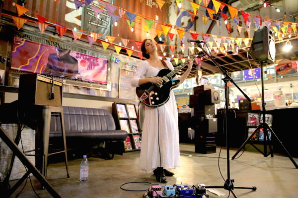 VERA SOLA PLAYS ROUGH TRADE