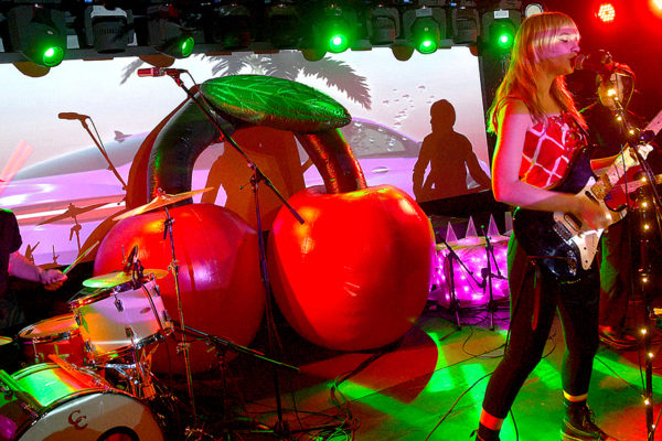 CHERRY GLAZERR BAKED A SOLD-OUT CROWD AT MERCURY LOUNGE
