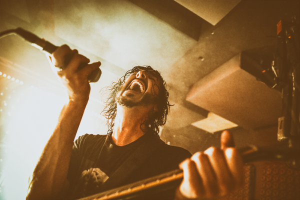 REIGNWOLF DIVE IN WITH BROOKLYN FANS IN SAVAGE SHOW AT BABY'S