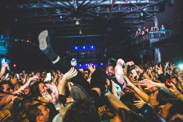 FOALS PLAY AN INTENSE, SOLD-OUT GIG AT BROOKLYN STEEL