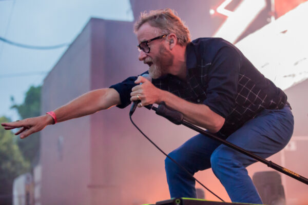 THE NATIONAL STOMP THROUGH THE POURING RAIN AT 2ND NIGHT IN PROSPECT PARK