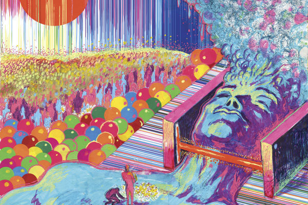 THE FLAMING LIPS' NEW LP 'KING'S MOUTH' IS A MIND-BENDING NOSTALGIA TRIP