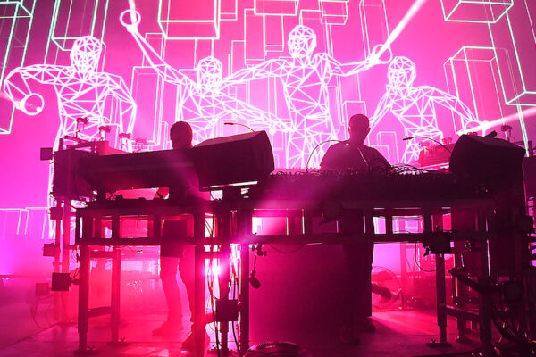THE CHEMICAL BROTHERS TAKE BACK THE DANCE FLOOR AT FOREST HILLS
