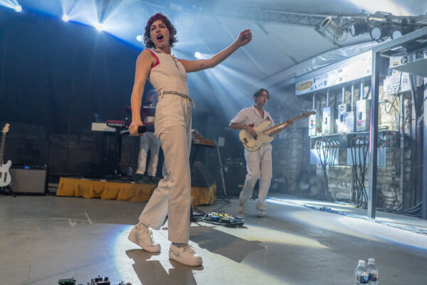 KING PRINCESS AND DAYGLOW PLAY STUBBS AT AUSTIN CITY LIMITS