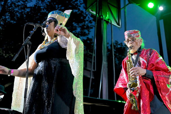 SUN RA ARKESTRA WERE OUT OF THIS WORLD AT SUMMERSTAGE